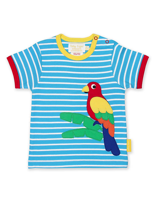 Parrot Applique T-Shirt
