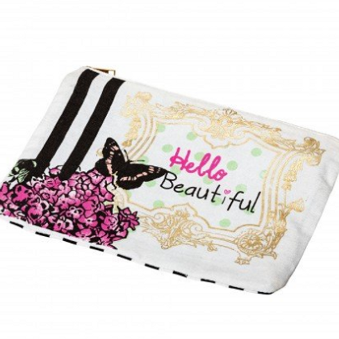 Hello Beautiful 'Butterfly' - Make Up Bag