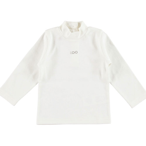 iDO warm cotton long-sleeved t-shirt