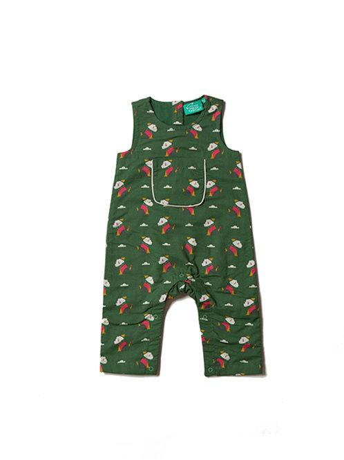 Little Green Radicals Scotty Dog Dungarees
