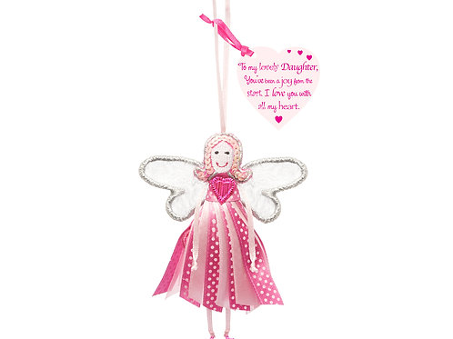 'To my lovely daughter' - Quote Fairy