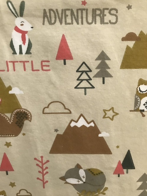 Little Adventure Print Fabric