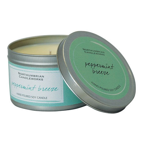 Peppermint Breeze Large Candle Tin