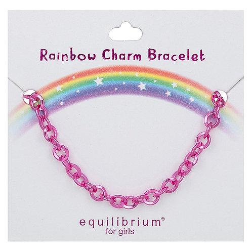 Equilibrium for Girls - Rainbow Charm Bracelet