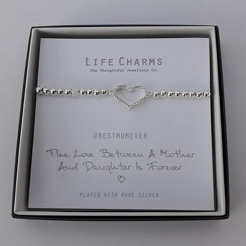 Love Between A Mother & Daughter Bracelet