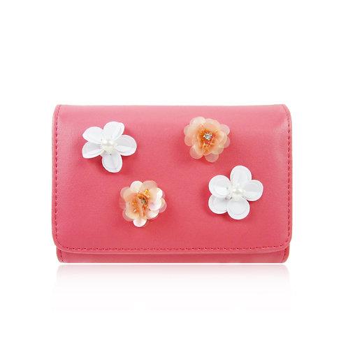 Rylee Flower Purse-pink