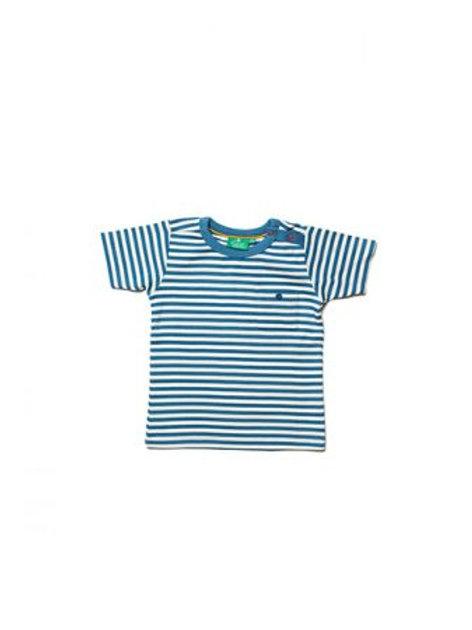 Ocean Blue Stripe T-Shirt