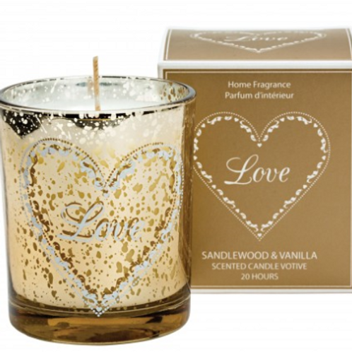 Loving Hearts Scented Candle