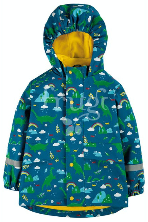 Frugi - Dragon Puddle Buster Coat - Front