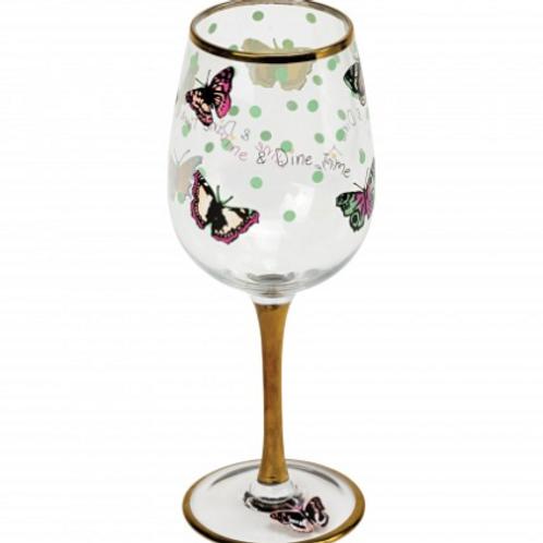 You're Beautiful Wine Glass