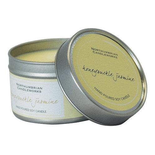 Honeysuckle Jasmine Large Candle Tin