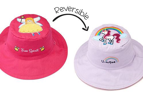 Princess - Unicorn Reversible Sun Hat