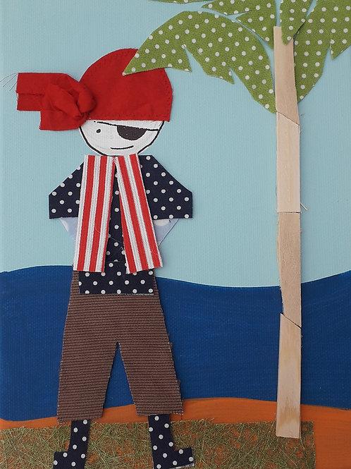 Pirate Canvas (18 x 24 cm)