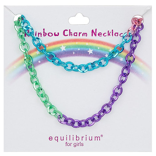Equilibrium for Girls - Rainbow Charm Necklace