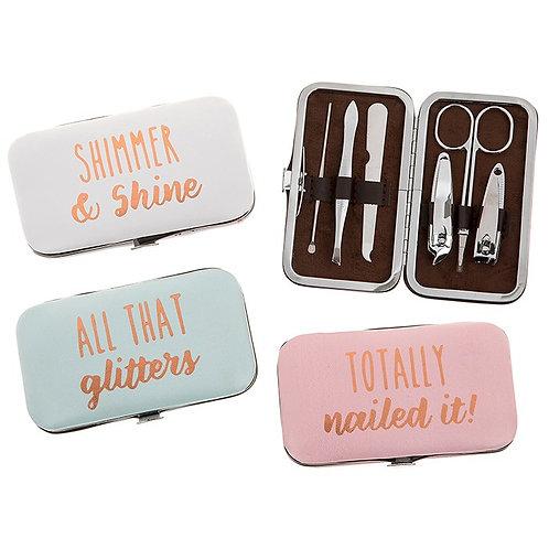 Girly Glamour Manicure Set