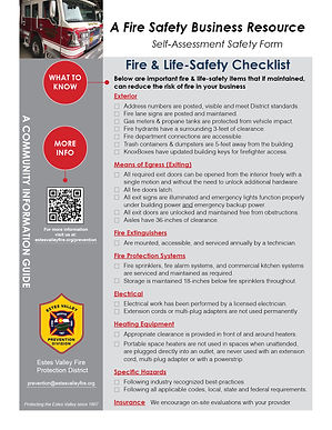 EVFPD Information Guide-Self Assessment