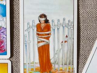 Mental Health Awareness - Wisdom from the Suit of Swords