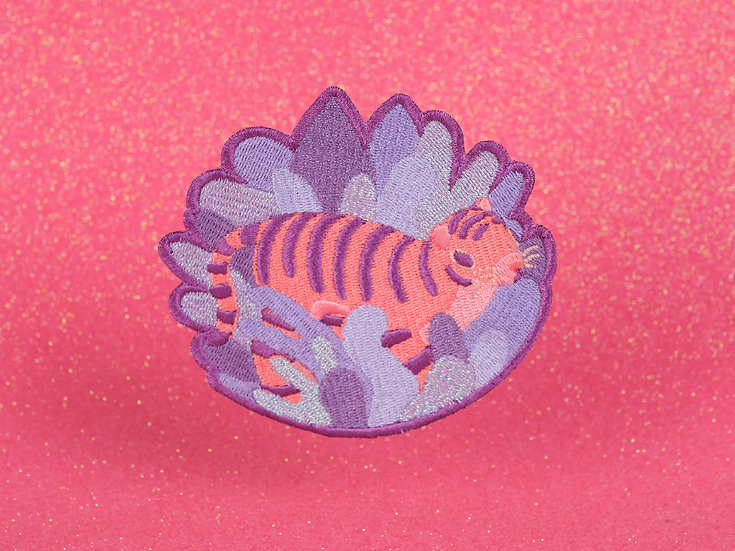 Tiger iron-on patch