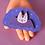 Thumbnail: Bat enamel pin