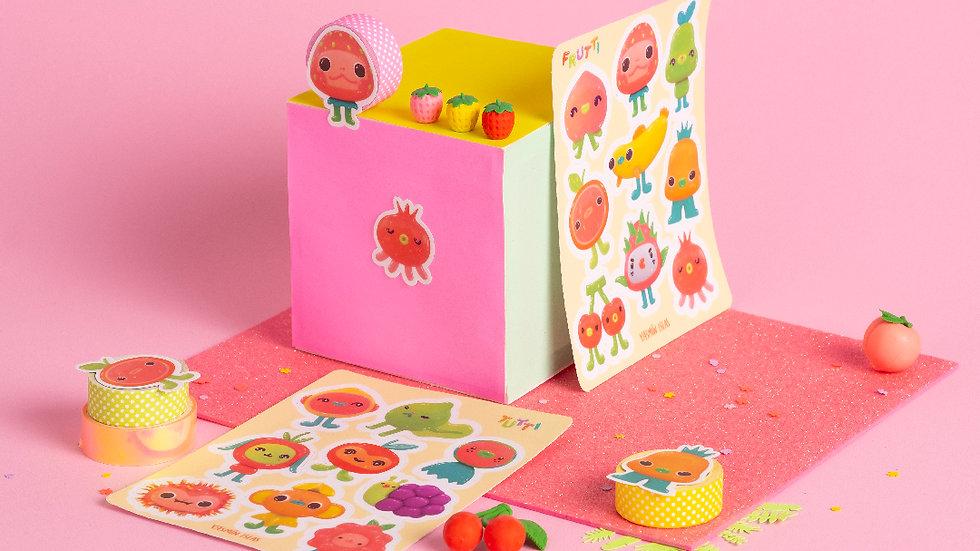 Tutti Frutti Sticker sheet