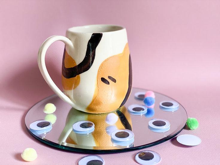 Mustard Squiggle Mug