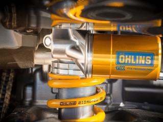 New range ofÖhlinsfork kits and shocks for leading Yamaha models