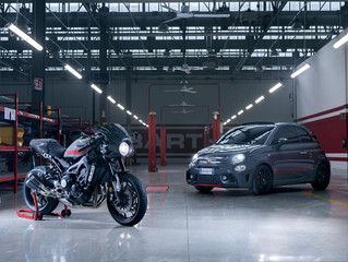 Online reservations for the first 95factory-built XSR900 Abarth