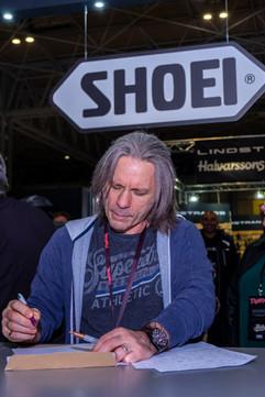 Shoei Troper Event Janis Strelkovs Photo