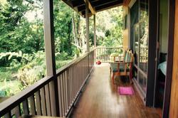 Colibri-private balcony
