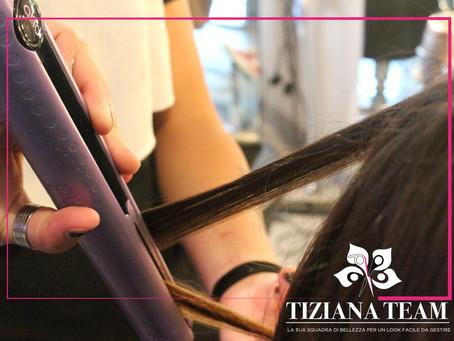 Come ottenere una perfetta piega liscia, con i consigli di Tiziana Team parrucchiere di La Spezia