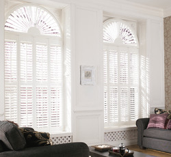 arched windows white