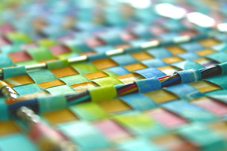 Image of Woven Art by Arlette Kassel