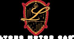 Lyons Motor Car logo white .png