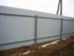 Забор из пронастила омск