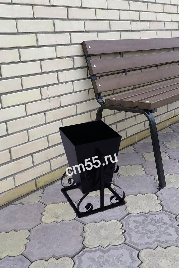 Урна металлическая в Омске
