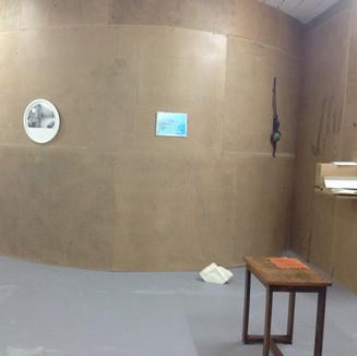 Installation pour l'exposition