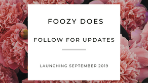Coming Soon: Foozy Does Officially Launches in September