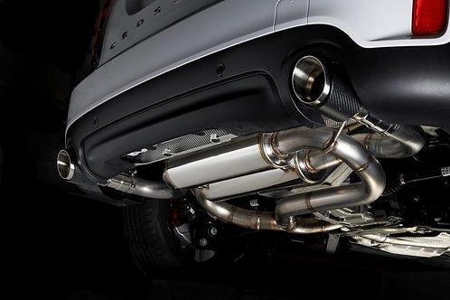 ミニ専用エグゾースト・サイレンサー・カーボンフィニッシャー F60JCW