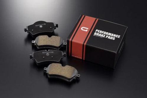 ミニ専用低ダスト・フロント・ブレーキパッド168HS・R56JCWキャリパー