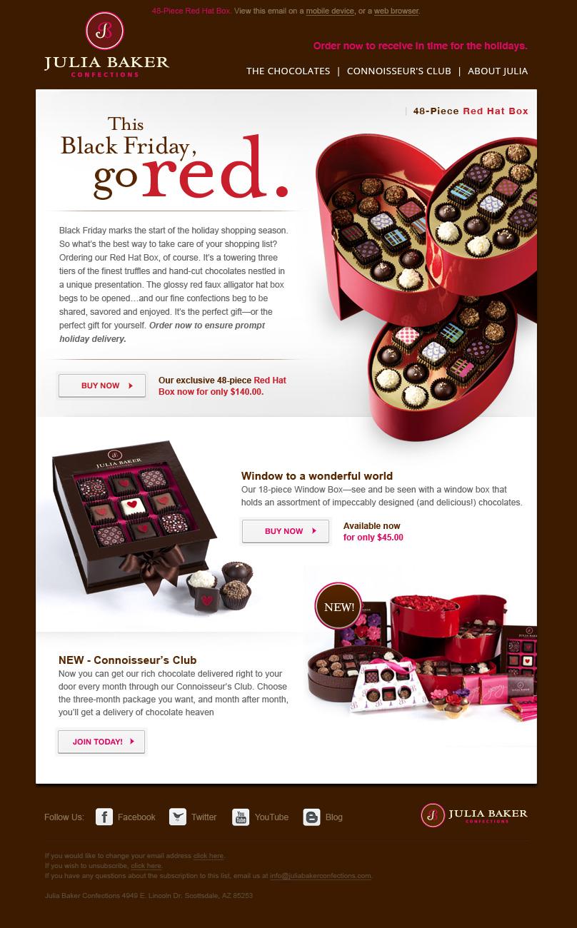Julia Baker Chocolates