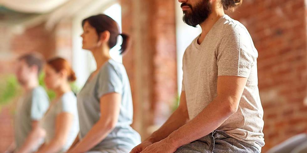 Méditation guidée en groupe