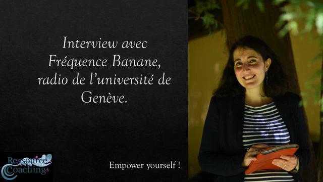Interview d'Eloïse Basille avec Fréquence Banane