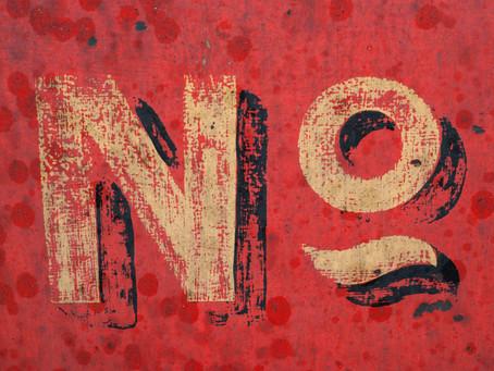 Le pouvoir de dire non