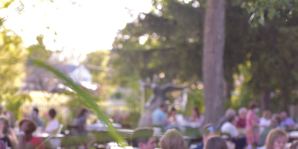 Dinner in the Garden  - An Artisan Experience