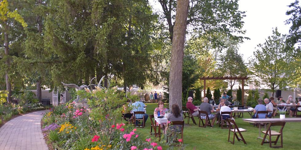 Dinner in the Garden - Summer Celebration Finale