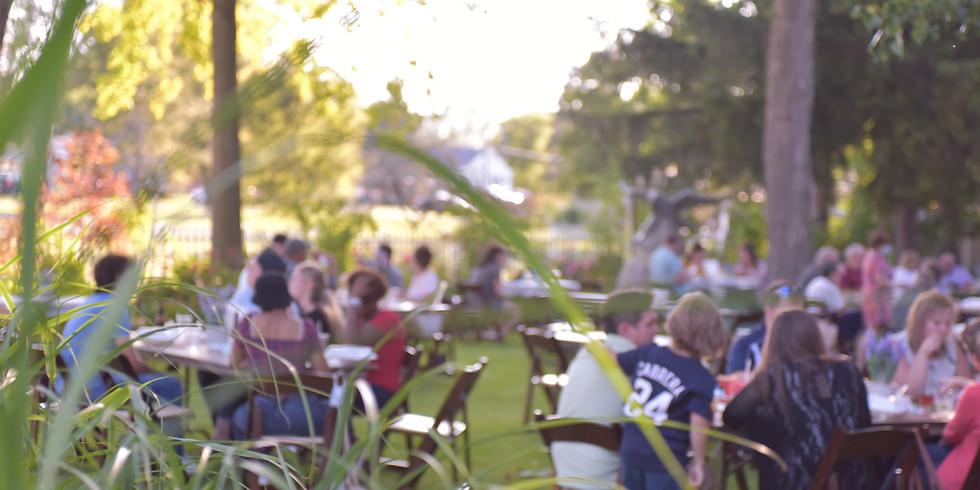 Summer Dinner in the Garden - Thursday, September 24