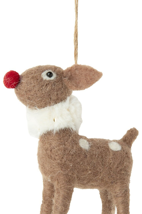 Felt Rudolph Ornament