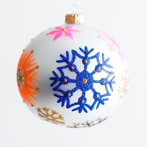 Blizzard Ornament by Thomas Glenn Holidays