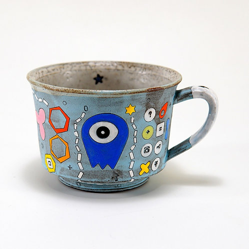 One-Eyed Alien Mug by Masa Sasaki
