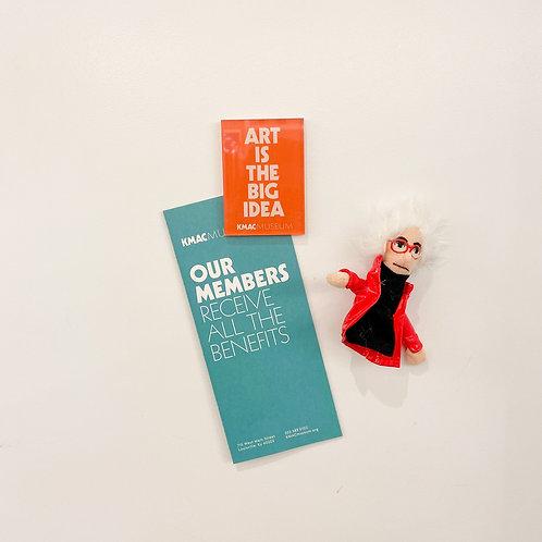 Art Is The Big Idea Magnet
